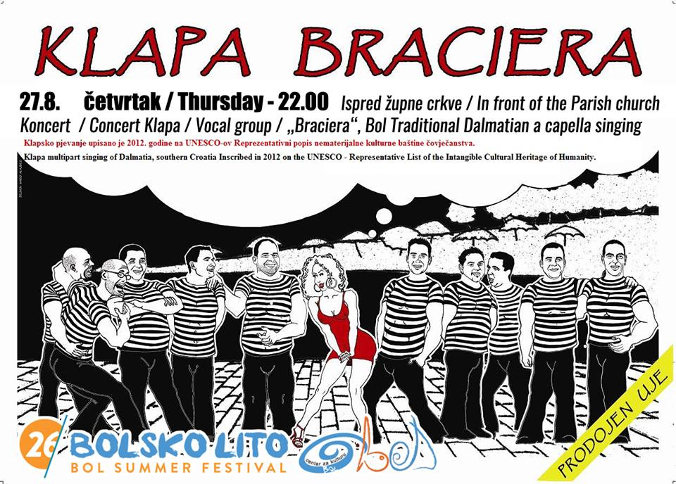 27.08. Concert Braciera a-capella group