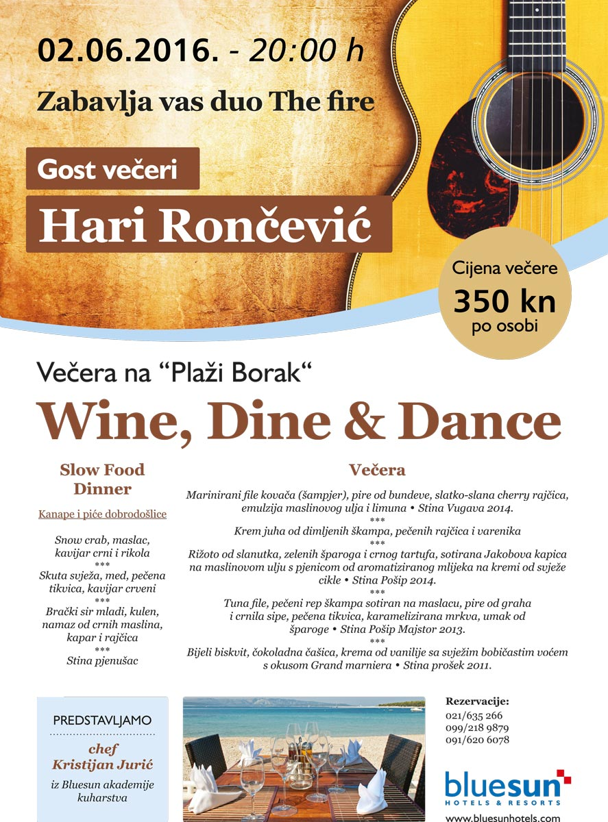 Wine, Dine & Dance