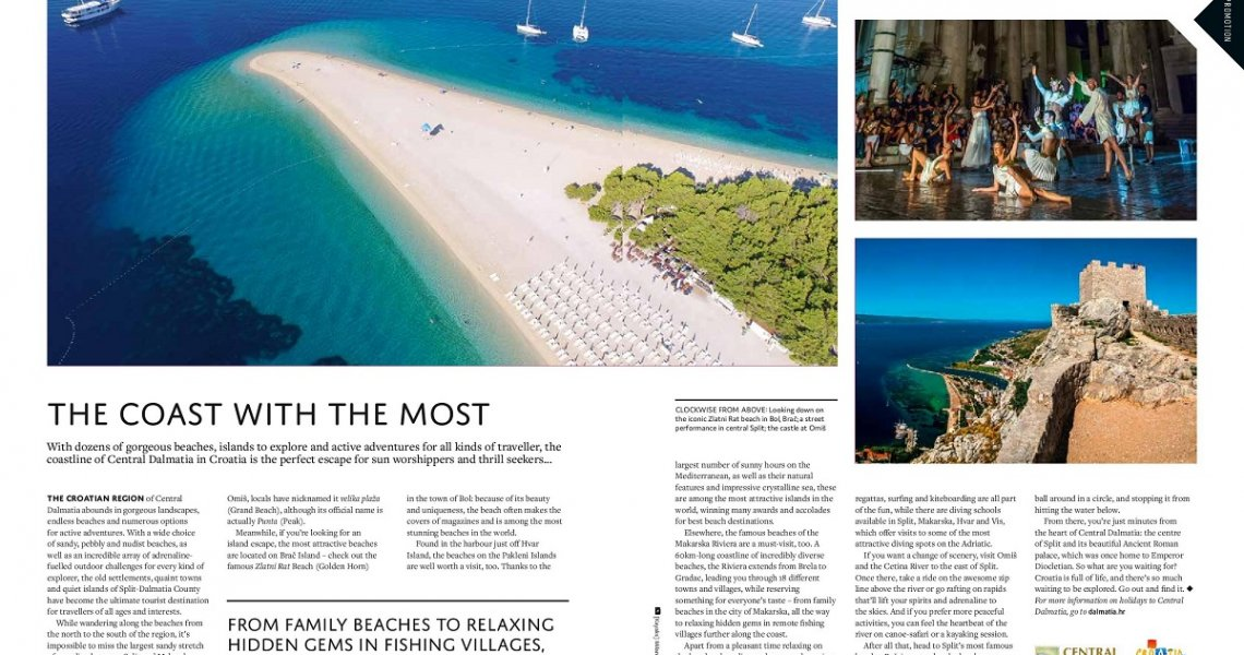 Zlatni rat featured in Escapism Magazine