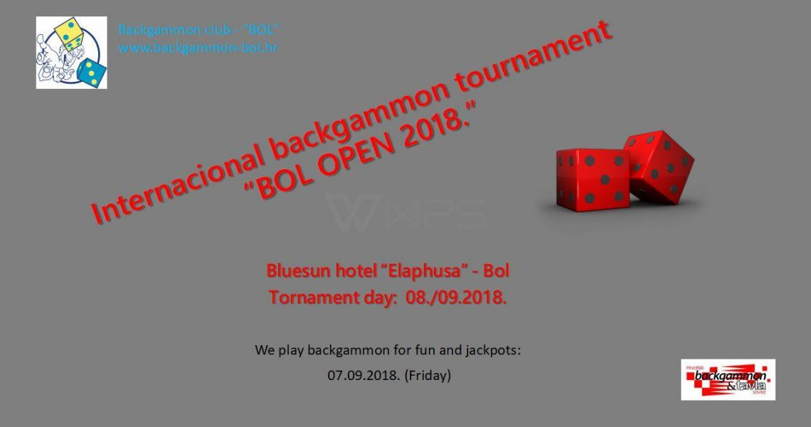 Backgammon Bol Open 2018