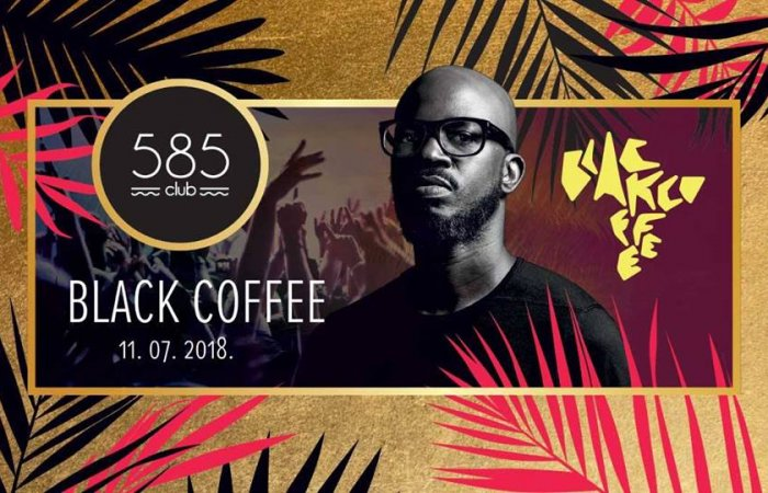 DJ Black Coffee at 585 club