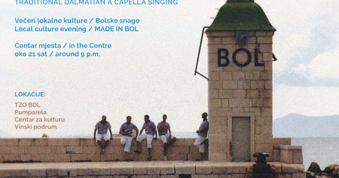 Traditional dalmatian a capella singing - 28.07.
