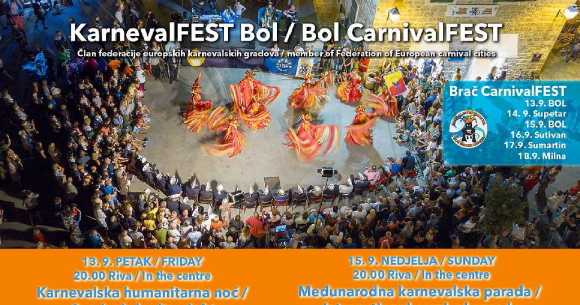 12th International Brač Summer CarnivalFEST