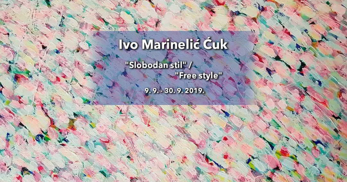 Exhibition opening by Ivo Marinelić Ćuk