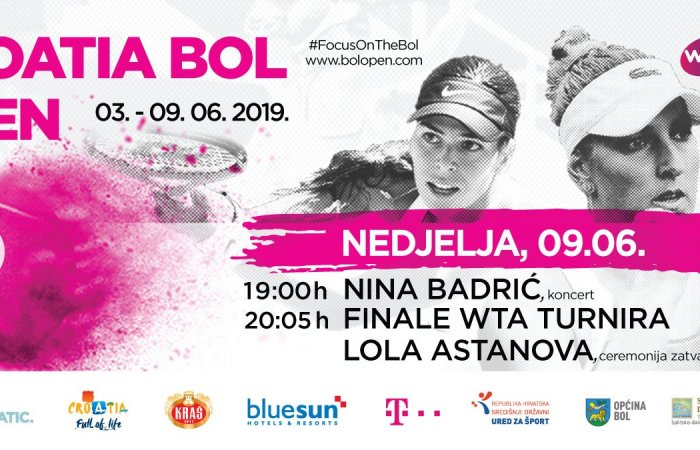 Finals of the WTA Croatia Bol Open, 09.06.