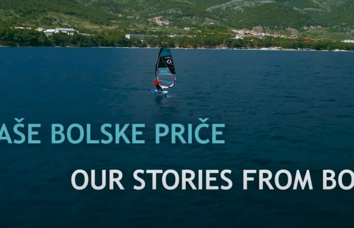 Our stories from Bol - Windsurfing