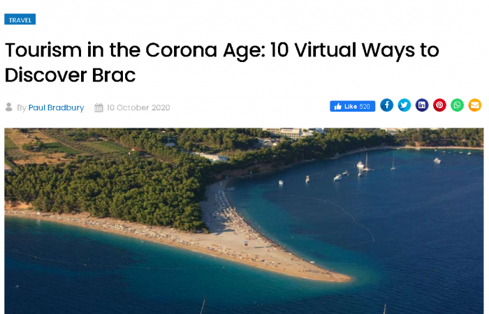 Tourism in the Corona Age: 10 Virtual Ways to Discover Brac